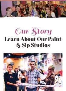 Saratoga paint and sip story