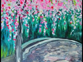 Weepy Cherry Tree