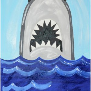 shark fanatics paint and sip