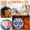 paint and sip pumpkin